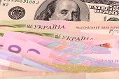 picture of american money  - european money and american money - JPG