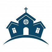stock photo of church  - Church building design - JPG