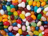 foto of jelly beans  - Jelly beans background with a variety of colors - JPG