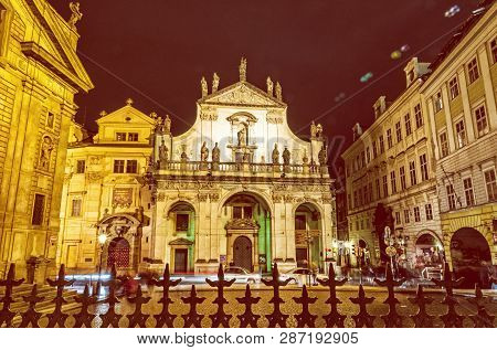Saint Salvator Church In Prague