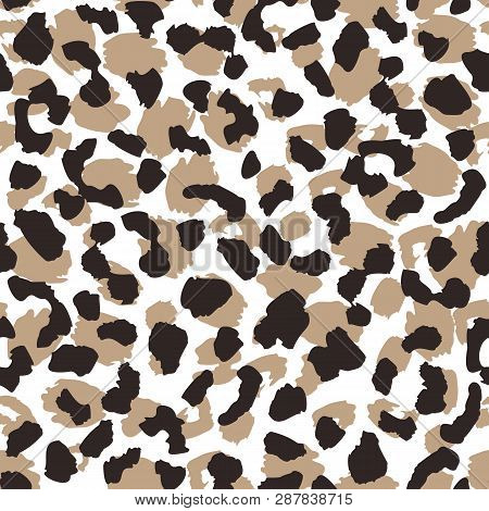 Abstract Leopard Skin Seamless Pattern