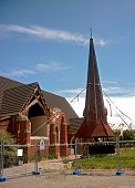 picture of purlin  - a church in Christchurch - JPG