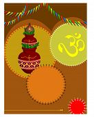 stock photo of kalash  - Mangal Kalesha - JPG