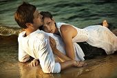 pic of intimacy  - Intimacy on the beach - JPG