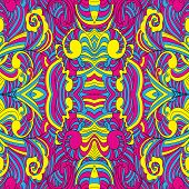Seamless Cmyk Pattern