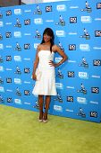LOS ANGELES - JUL 31:  Aisha Tyler arrives at the 2013 Do Something Awards at the Avalon on July 31,