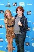 LOS ANGELES - JUL 31:  Noah Cyrus, Tucker Albrizzi arrives at the 2013 Do Something Awards at the Av