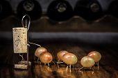stock photo of midget  - a Concept of a Wine cork Figures - JPG