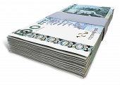 Постер, плакат: Swedish Krona Notes Bundles