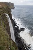 image of kilt  - kilt rock waterfall on the isle of skye
