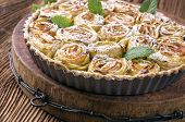 image of pie-in-face  - apple pie - JPG