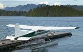 image of hydroplanes  - Landscape with hydroplane in Nanaimo - JPG