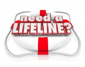 pic of life-support  - Need a Lifeline question on a life preserver to illustrate someone desperate for aid - JPG