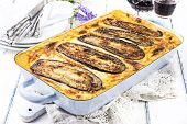 picture of bonnes  - Moussaka - JPG