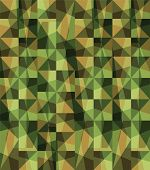 stock photo of camoflage  - Seamless vector square camouflage series in the green scheme - JPG