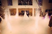 pic of night gown  - beautiful romantic first dance by wedding couple - JPG