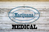 foto of marijuana  - Marijuana Concept Sign  - JPG