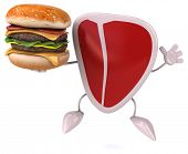 pic of hamburger-steak  - Fun steak - JPG