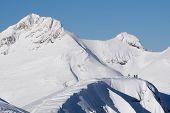 foto of sochi  - Mountain landscape of Krasnaya Polyana - JPG