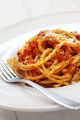 stock photo of guanciale  - amatriciana - JPG