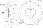 picture of bearings  - Sketch of bearing with chamfers - JPG