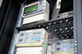 foto of electricity meter  - Digital gas flow meters - JPG