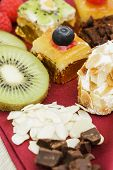pic of petition  - Assortment of petit four desserts Sweet food and desserts - JPG