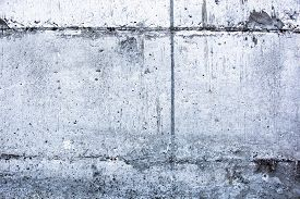pic of mortar-joint  - Concrete surface with blocks joint lines and rich texture - JPG