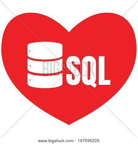 Sql Database Icon Logo Design Ui Or Ux App Poster Id197095225