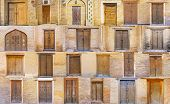 Постер, плакат: The Old Uzbek Doors