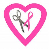 Pink Ribbon Volunteer poster