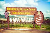 The Napa Valley Sign poster