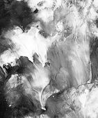 Black And White Abstract Background,hand Painted Texture,gouache Painting,drops Of Paint, Splashes,  poster