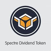 Sxdt - Spectre Dividend Token - The Coin Icon. poster