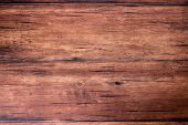 Brown Scratched Wooden Cutting Board. Wood Texture. Wood Background. poster