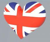 Постер, плакат: Британский флаг