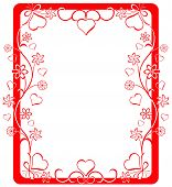 picture of valentine love  - valentine frame - JPG