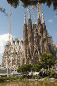 picture of gaudi barcelona  - Sagrada Familia  - JPG