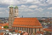 Church of Our Lady (Frauenkirche) in Munich, Germany