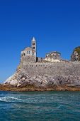 Church Of Saint Peter (1198). Portovenere, Italy