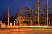 Electrical Grid Substation