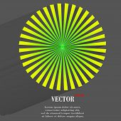 stock photo of semi-circle  - Abstract blurry background with overlying semi transparent circles - JPG