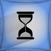 picture of sand timer  - Sand clock - JPG