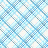 stock photo of tartan plaid  - Abstract Seamless Pattern with Plaid Fabric on a white background - JPG