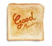 stock photo of bangla  - good morning with coffe cup and cake - JPG