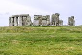 image of stonehenge  - Mystical site of stonehenge - JPG