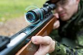 foto of guns  - hunting - JPG