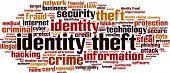 image of cybercrime  - Identity Theft Word Cloud - JPG