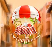 picture of awning  - Cafe - JPG