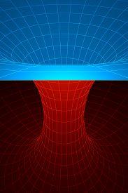 picture of einstein  - A wormhole or Einstein - JPG